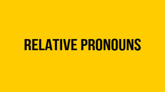 Quiz on Relative Pronoun