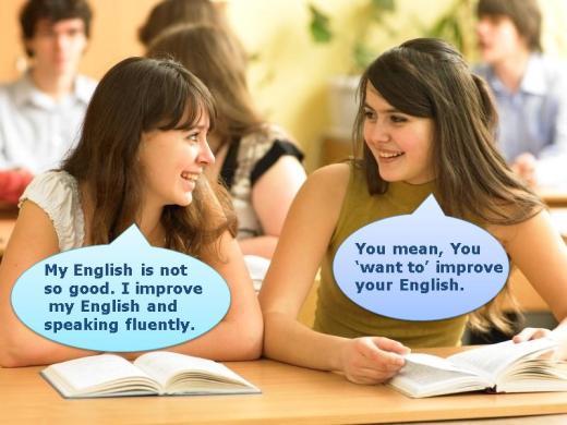 Une conversation en anglais