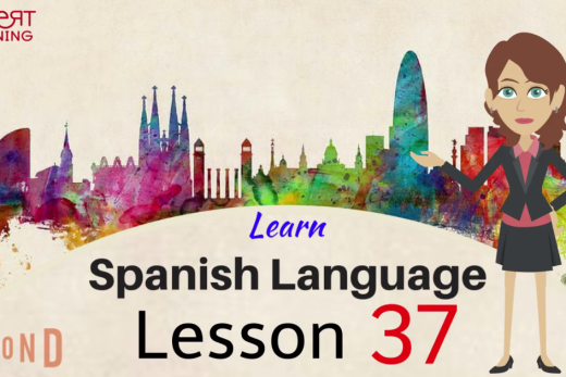Learn spanish words by watching this video