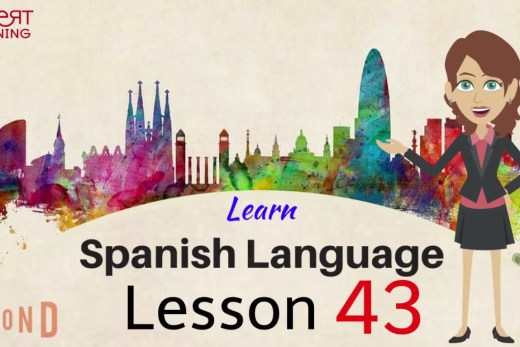 Learn about the directions in Spanish by watching this video of two minutes.