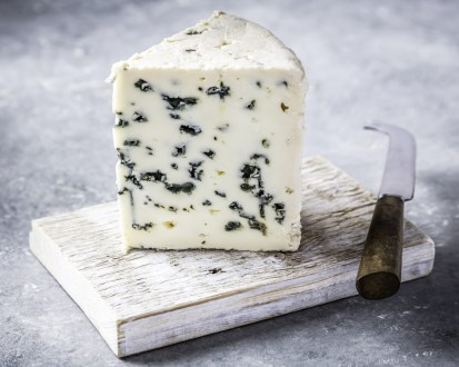 Blue cheese in French.