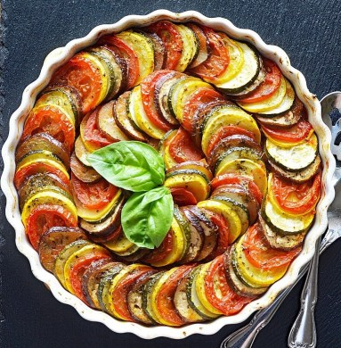 Ratatouille is a french dish.