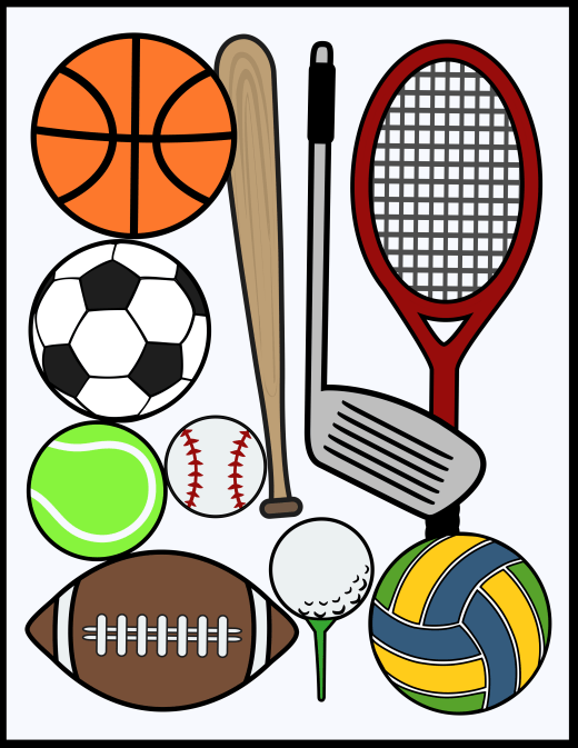 Various sports.