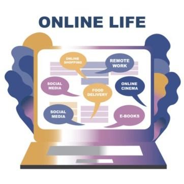 la vie en ligne