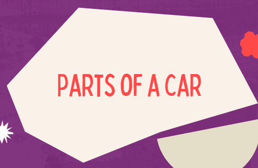 Parts of a car in French