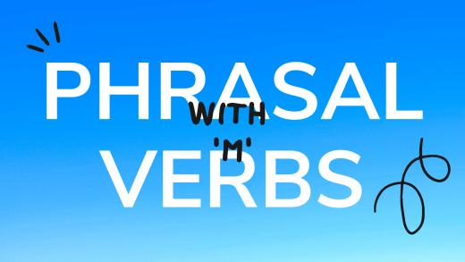 verbes a particule