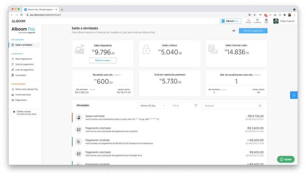 interface-de-pagamento-online