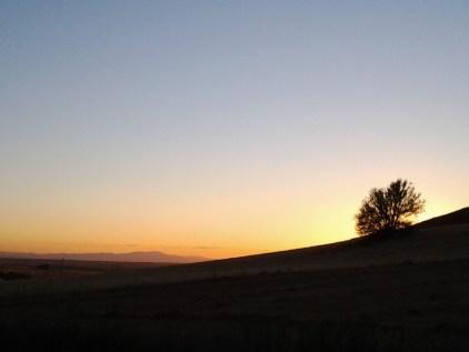 193 El sol baja por la colina Fáfilas