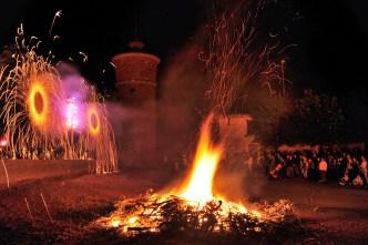 009 - Fuegos en La Cañamona Matanza de los Oteros