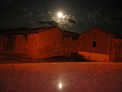 La Luna sobre las Paneras