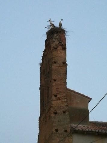 Torre con Cigüeñas
