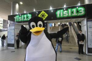 Mascote principal do FISL13