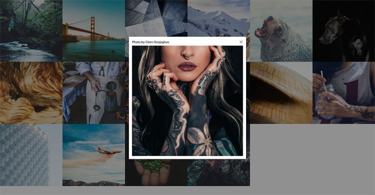 How To Build Responsive Gallery With Foundation and Modals