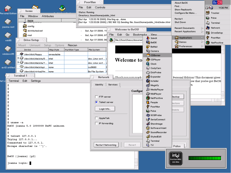 Retro Software: BeOS
