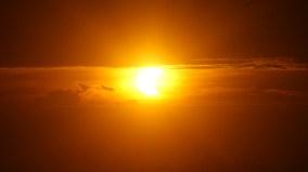 Solar Eclipse. Bromo Tengger Semeru National Park, Indonesia