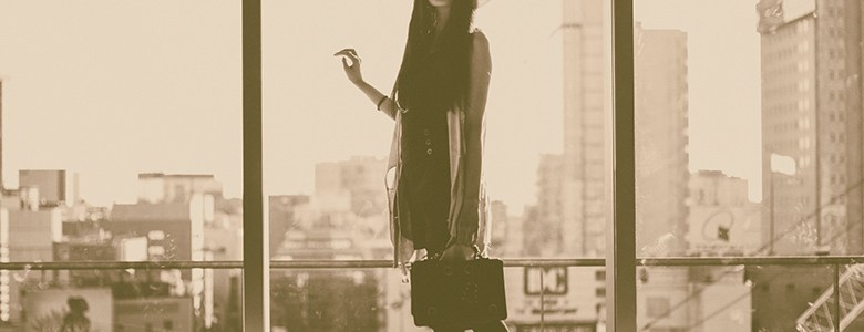 Fashion model in Tokyo: first shoot with Mari Hirao