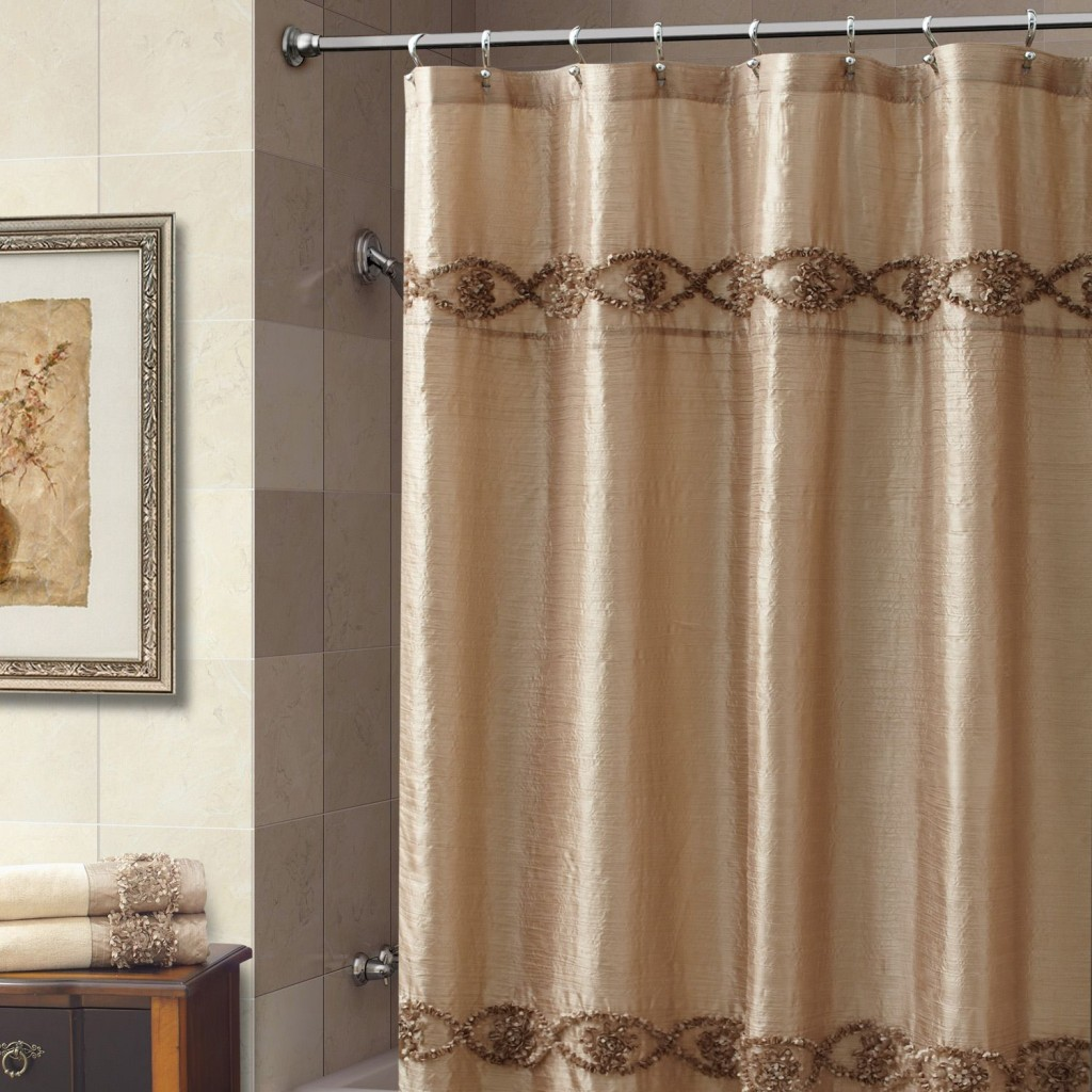 Captivating Extra Wide Shower Curtain Ideas For Bathroom