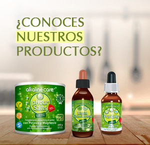 alkaline care phour salts clorofila líquida puriphy