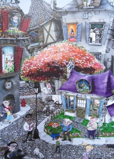 The Flower ManA Wordless Picture Book All About