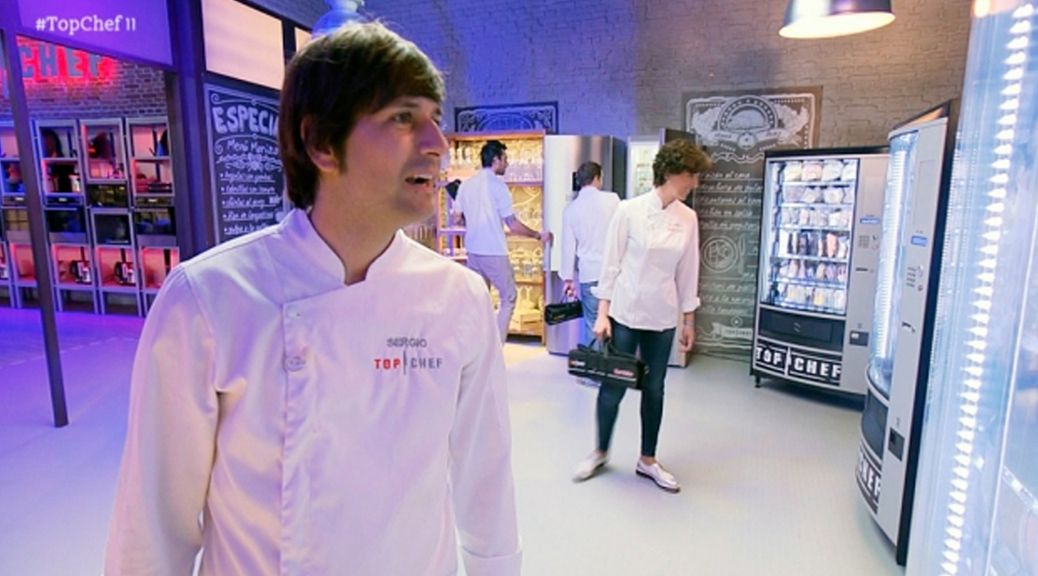 Las máquinas Alliance Vending en el reality Top Chef de Antena 3