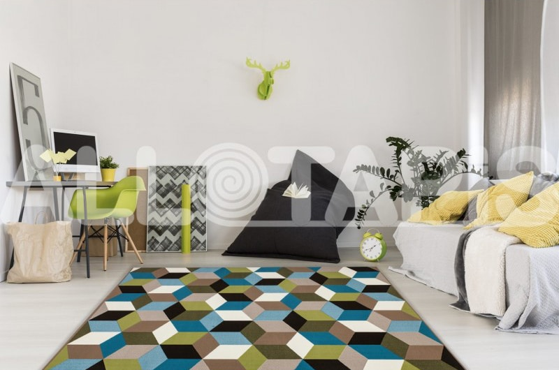 tapis-geometrique-style-scandinave-multicolore-grizly