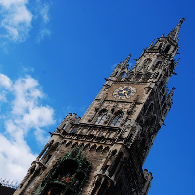 뮌헨 여행 코스 신시청사의 시계탑