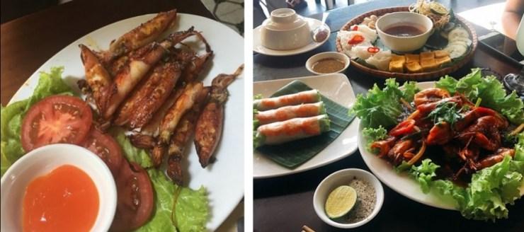 베트남 다낭 맛집 마담란의 여러가지 요리