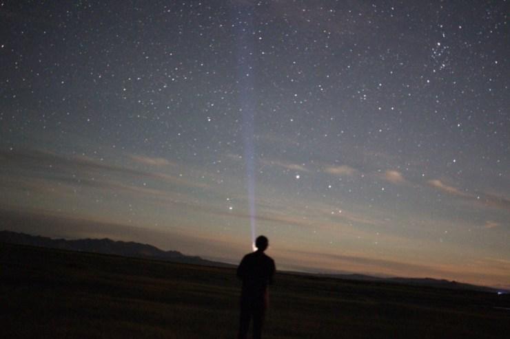 몽골 밤 별
