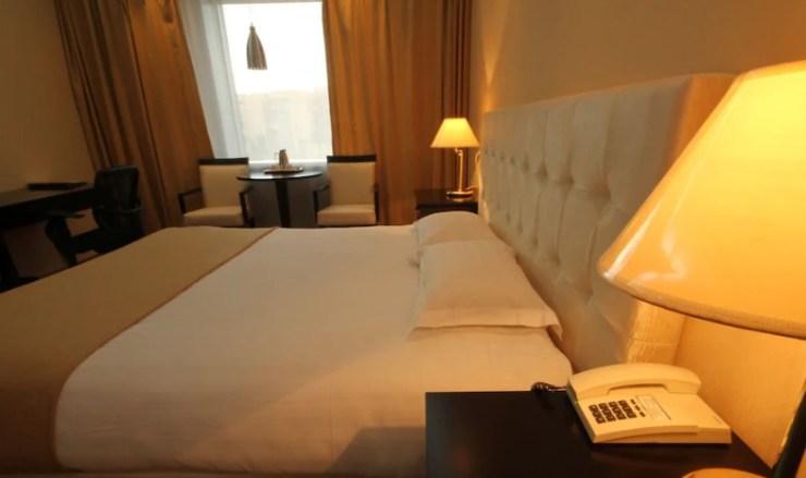 올스테이 추천 몽골 호텔 징키스칸 호텔 객실 내부