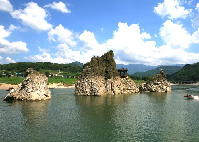 단양 주말 여행코스 사진찍기 좋은 곳 도담삼봉