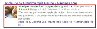 Recipe Schema Mark-up