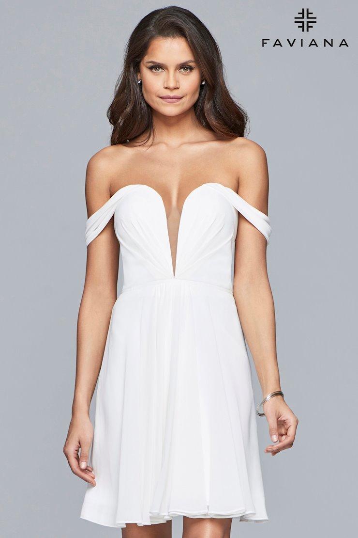 Breezy White Cocktail Dress