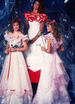 prom dresses from the 80s
