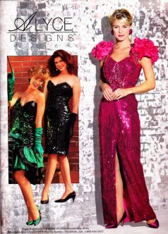prom dresses from the early 90s