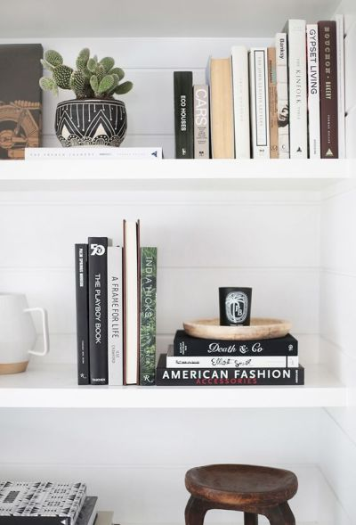 How to Style Your Book Shelf