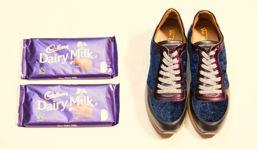 Scarpe e cioccolato