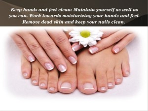 Tips for Hands and Feet Maintenance