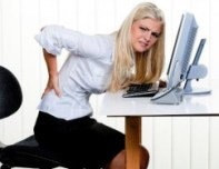 Sitting for long periods can cause pain