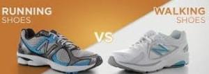 Running Shoes vs Walking Shoes