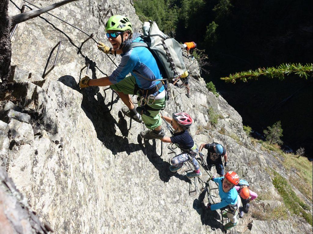 Klettersteig Für Kinder : Mit unseren kindern am klettersteig alpenvereinsblog