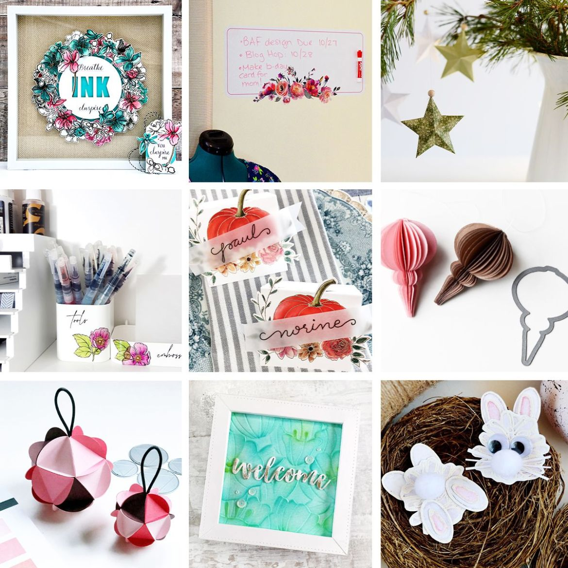 DIY Home Decor and Holiday Decoration Projects