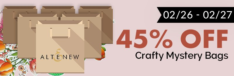 45% off Crafty Mystery Bags