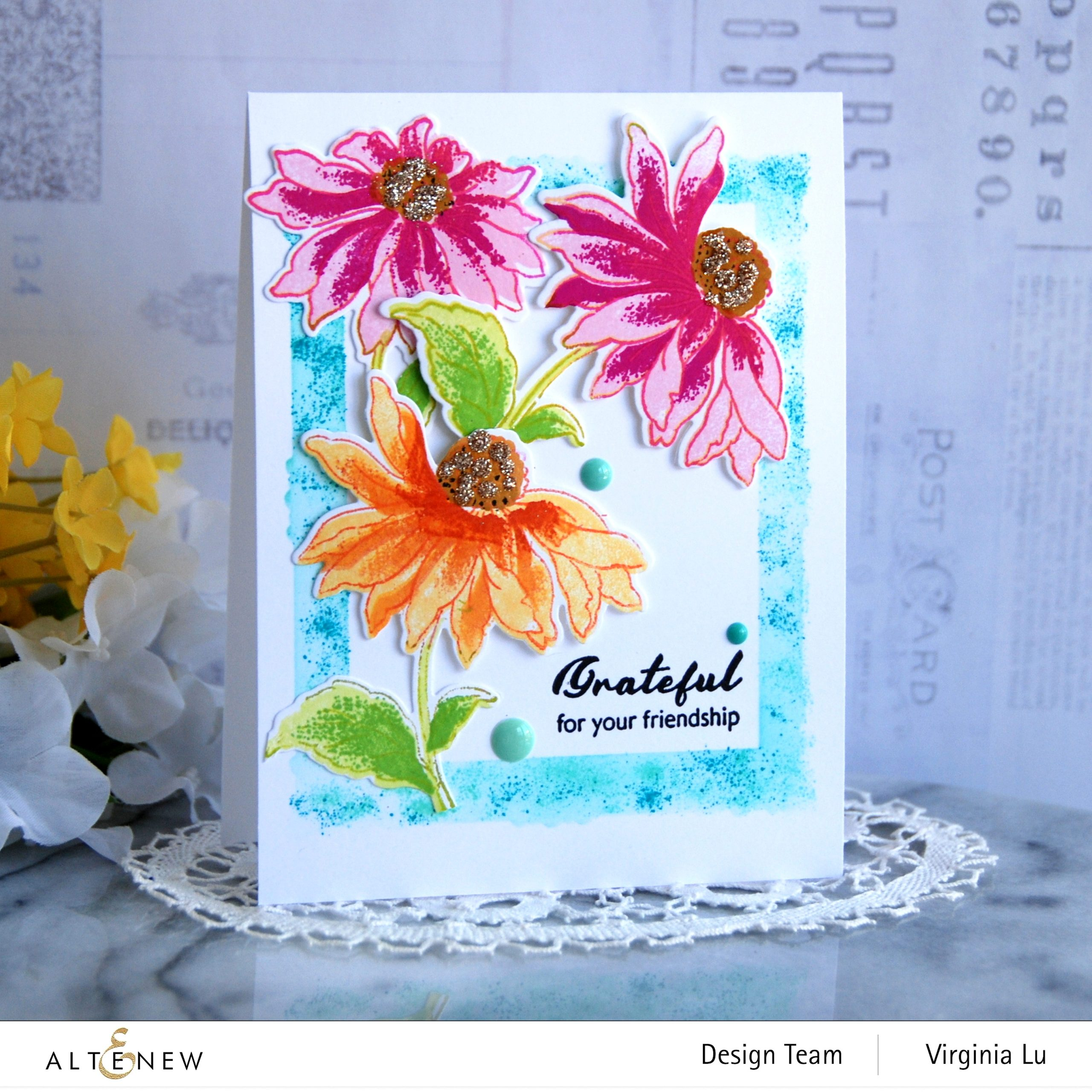 NEW Build-A-Flower: Coneflower Release Blog Hop + Giveaway
