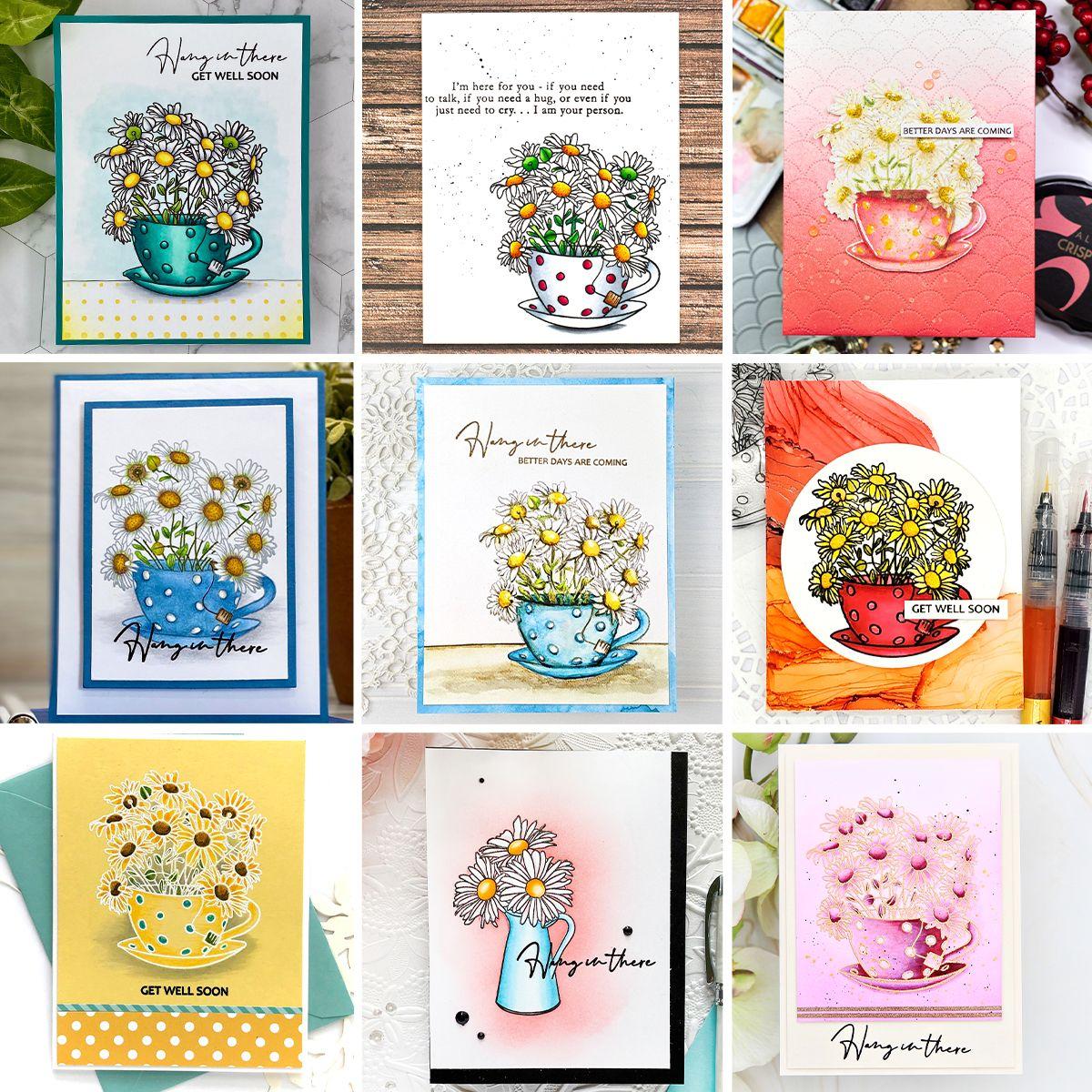 Paint-A-Flower: Chamomile Stamp Set Release Blog Hop + Giveaway