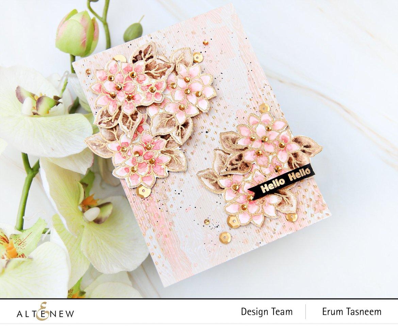 Altenew Sweet Cluster Stamp Set | Erum Tasneem | @pr0digy0