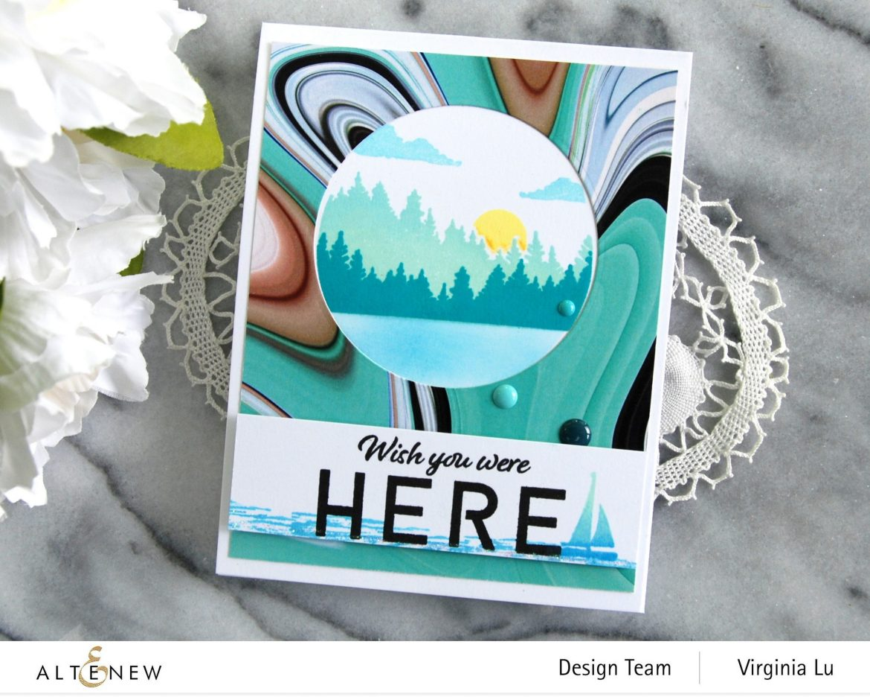 06132021-Let's Go Stamp & Die & Coloring Stencil Bundle-Poured Acrylic Paper Pad-002
