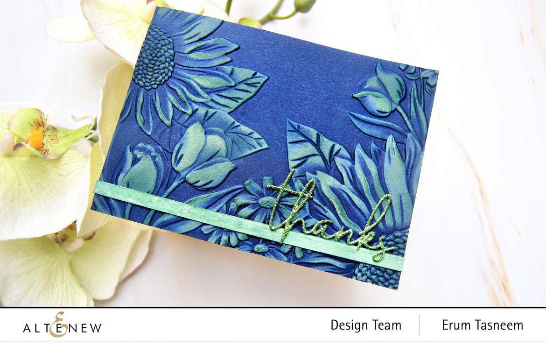 Altenew Craft Your Life Project Kit-Seasonal Blooms | Erum Tasneem | @pr0digy0