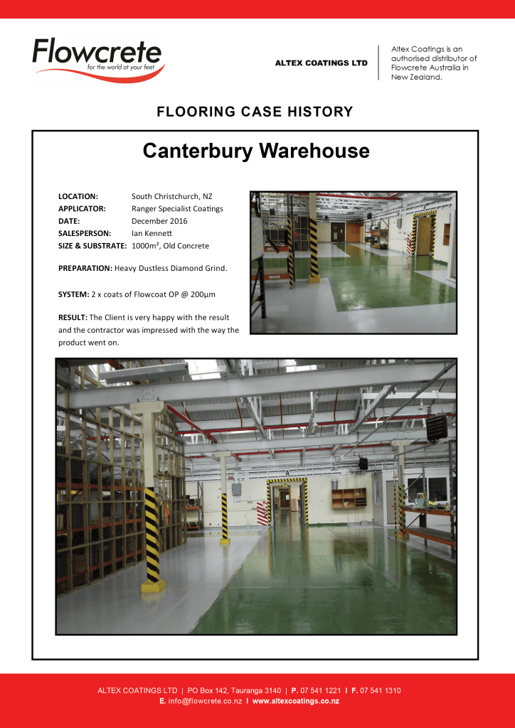 Canterbury Warehouse