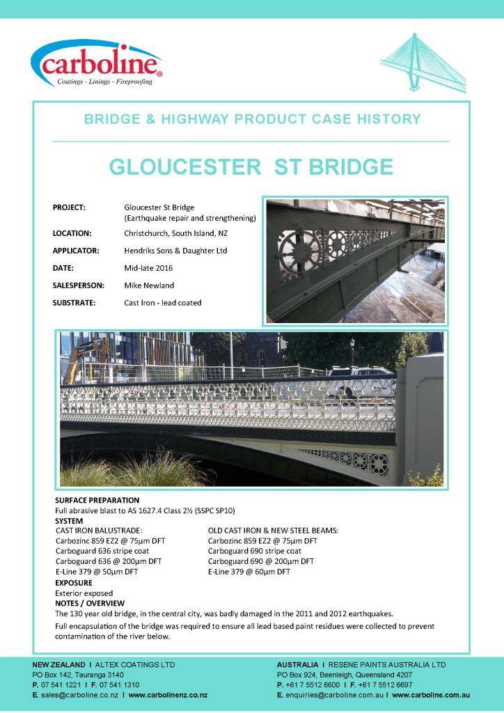 Gloucester Street Bridge