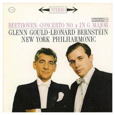【58%OFF】《グールドの良さが初めて分かる!!》米  COLUMBIA MS 6262 [ 6EYE ラベル] グレン・グールド (p)、バーンスタイン指揮ニューヨーク・フィル、ベートーヴェン:ピアノ協奏曲 No.4